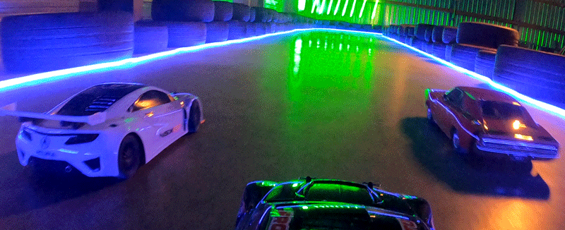 Remote Reality Racing game